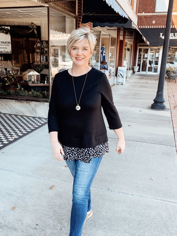 Quinn Easy Layered Top-Carolyn Jane's Jewelry