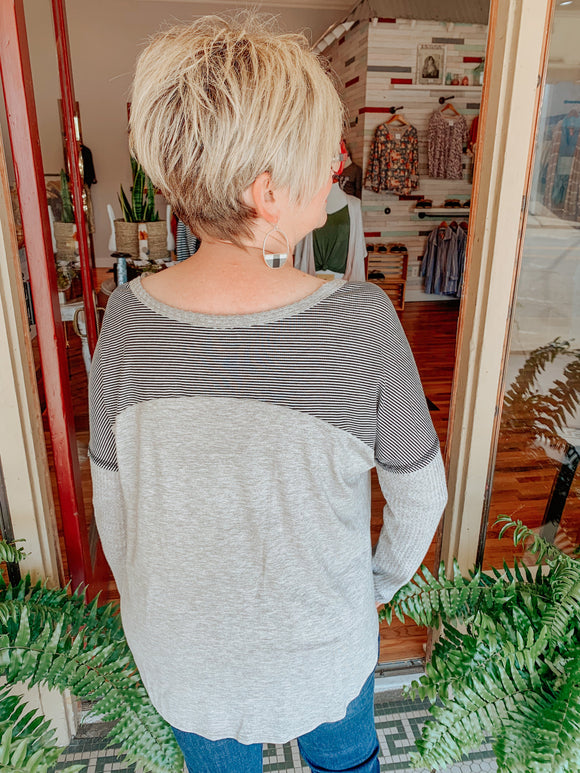 Sweet Surrender Stripe Top-Carolyn Jane's Jewelry