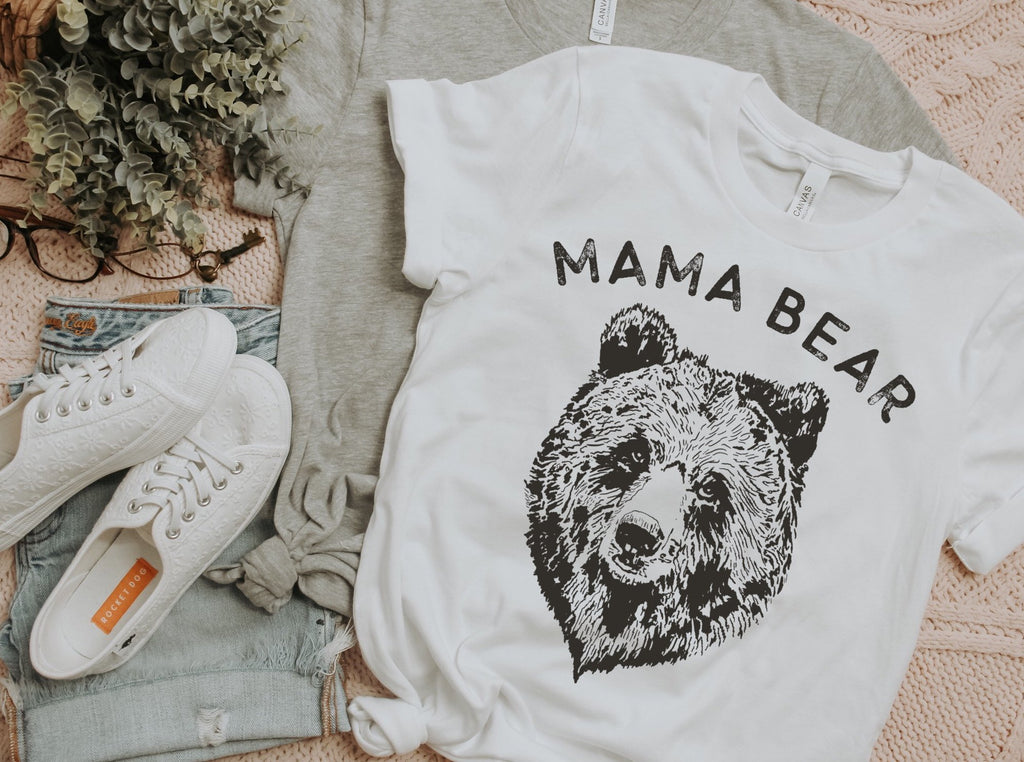 Vintage Mama Bear T-Shirt-T-Shirt-Carolyn Jane's Jewelry