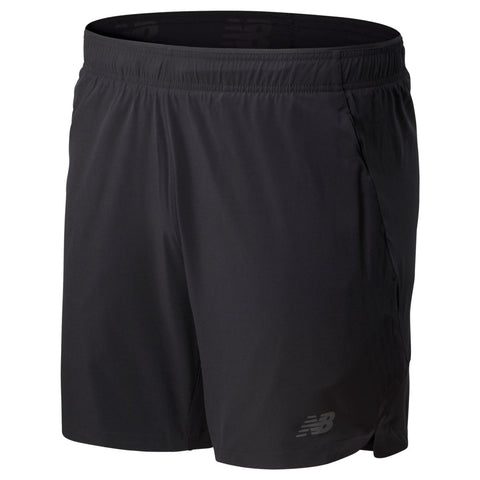 New Balance Mens Fortitech 7 Inch Woven Short