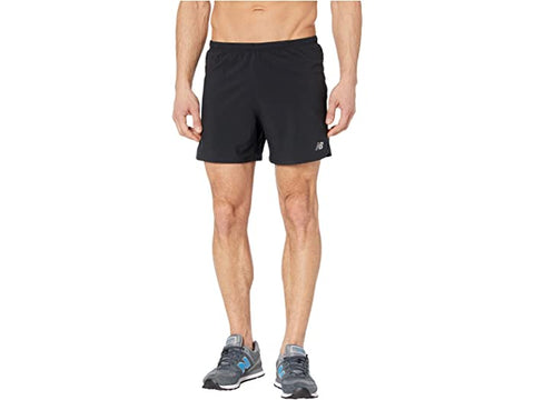 New Balance Mens Impact Run 5 Inch Short