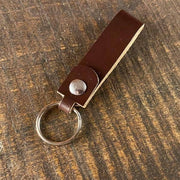 The Agent's Keychain - Havana English Bridle - Amopelle Co.