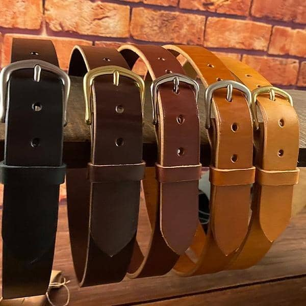 The Captain's English Bridle Belt - Amopelle Co.