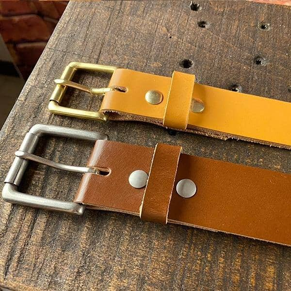 The Chief Foreman's Traditional English Bridle Belt - Amopelle Co.