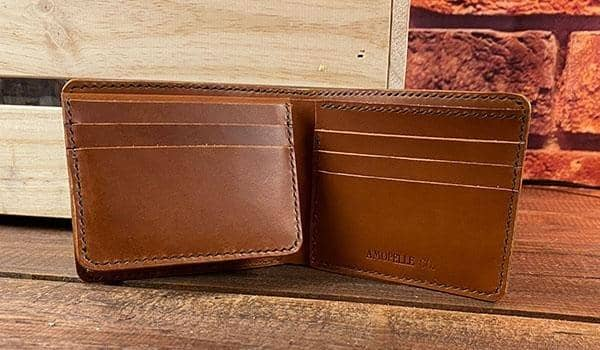 The Coordinator's Wallet - Green & Chesnut - Amopelle Co.