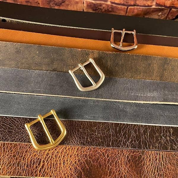 The Seafarer's Buffalo Leather Belt - Amopelle Co.