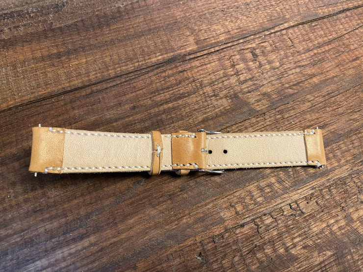 Weekday Watch Strap - Russet - Amopelle Co.