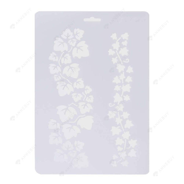 Scrapbooking-6x Layering Stencils  For Walls Painting Scrapbooking