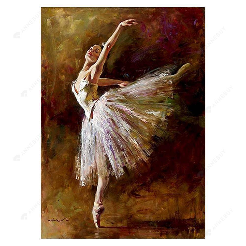 Diamond Painting-Partial Drill Ballet Dancer