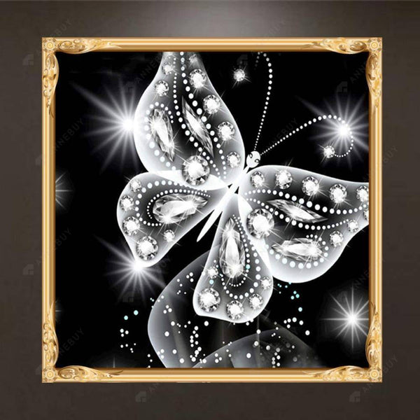 Diamond Painting-Partial Drill Butterfly