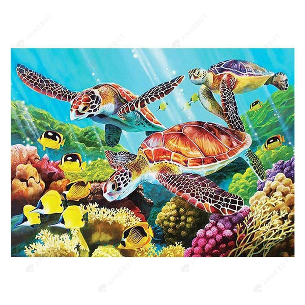 Diamond Painting -Full Drill Sea Turtles