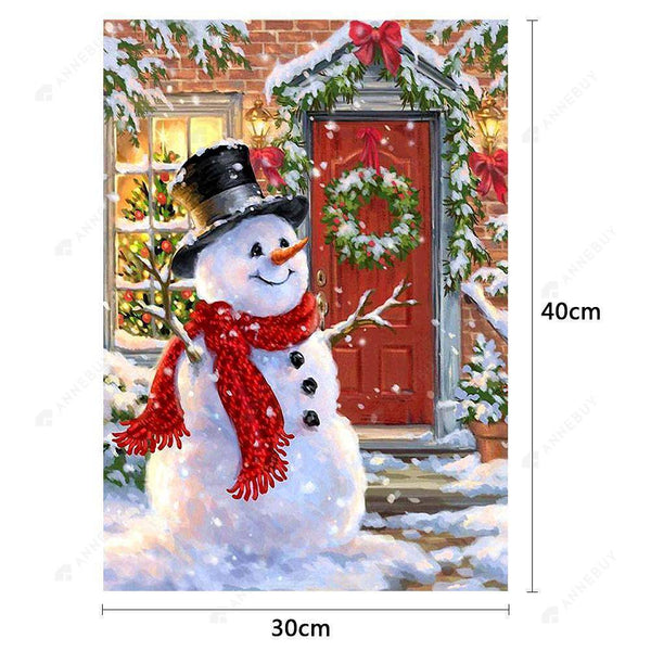 Diamond Painting -Full Drill Christmas Snowman