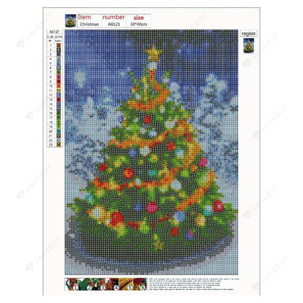 Diamond Painting -Full Drill Christmas