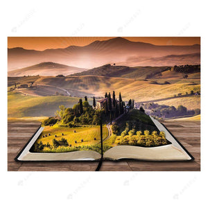 Diamond Painting -Full Drill Book Landscape