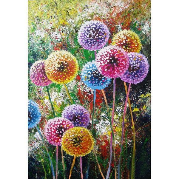 Diamond Painting-5D Full Round Drill Dandelion