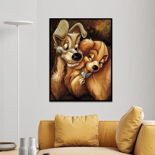 Diamond Painting -Full Round Drill Dog