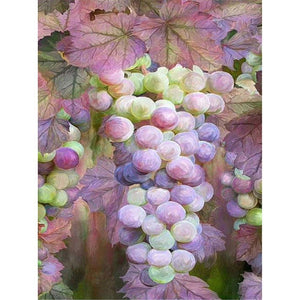 Diamond Painting-5D Full Round Drill Grape