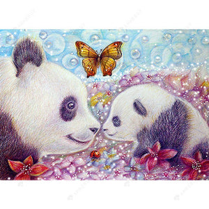 Diamond Painting -DIY Full Round Drill Panda