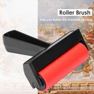 Painting Accessories-Rubber Roller Brush DIY Diamond Painting Brushing Craft Drawing Tools (S)