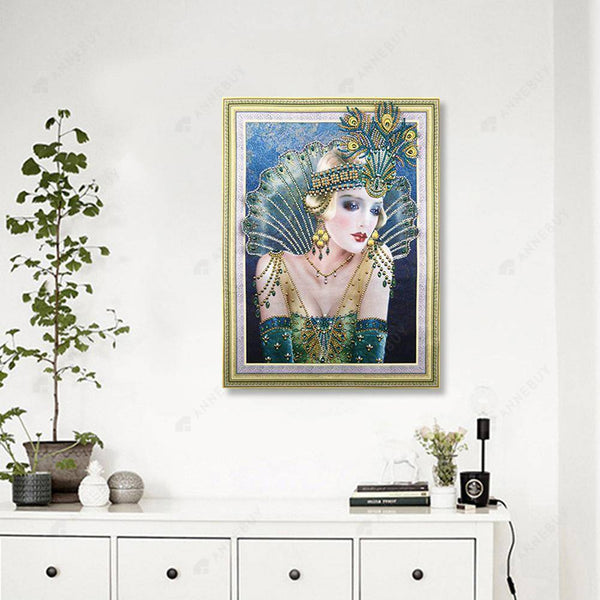 Diamond Painting -DIY Crystal Rhinestone Beauty(50X40cm)