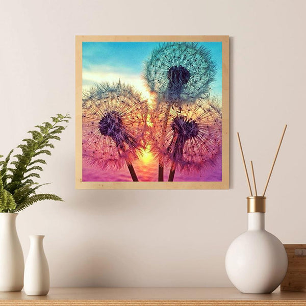 Diamond Painting-5D Full Square Drill Dandelion
