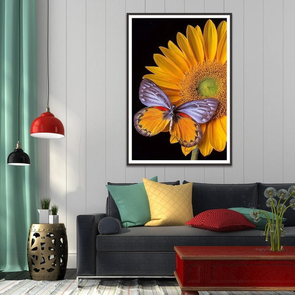Diamond Painting -DIY Full Round Drill Butterfly