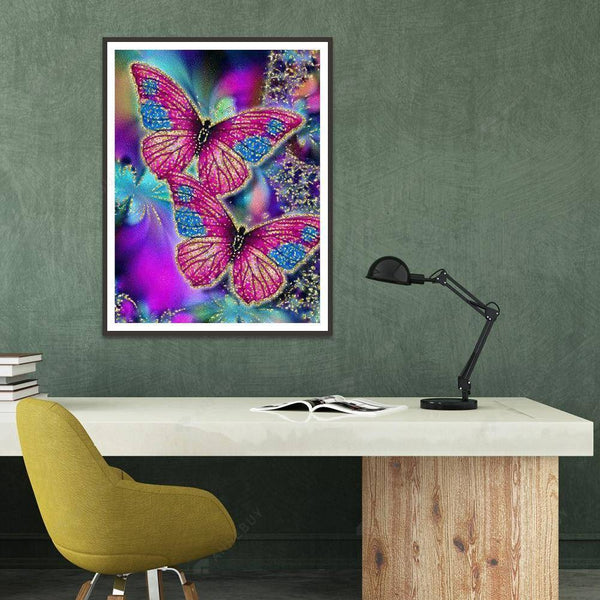 Diamond Painting -Full Round Drill Butterfly
