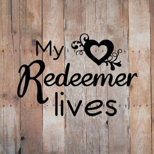Diamond Painting -Full Round Drill My Redeemer Lives