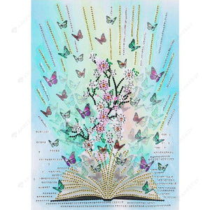 Diamond Painting -DIY Crystal Rhinestone World of Books