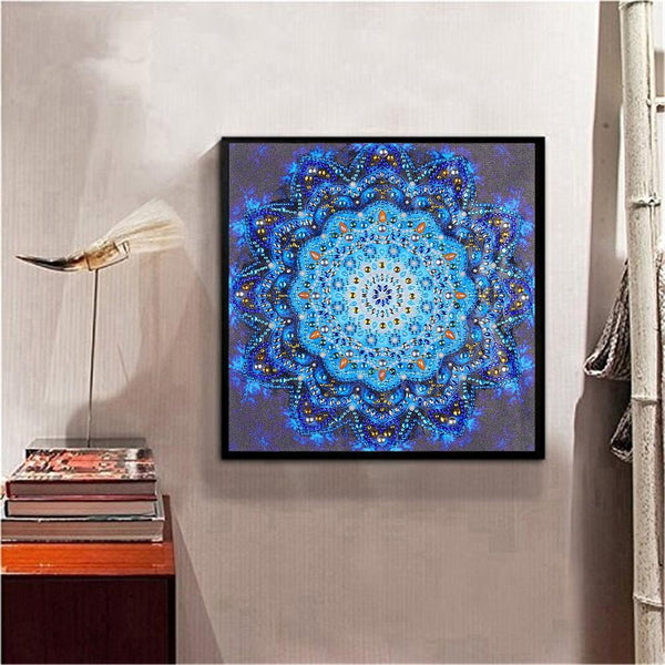 Diamond Painting -DIY Crystal Rhinestone Magical Mandala