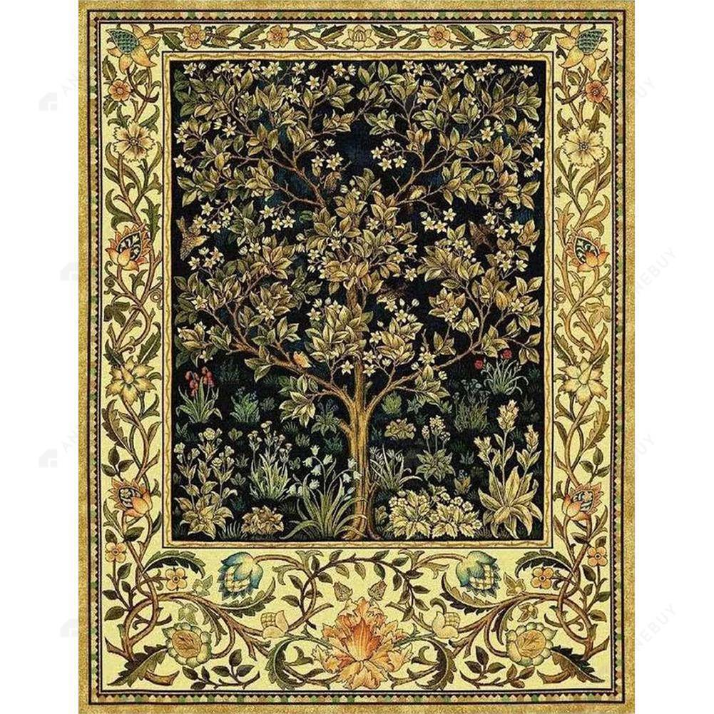 Diamond Painting -Full Round Drill Tree of Life