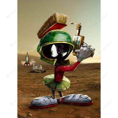 Diamond Painting -Full Round Drill Marvin the Martian