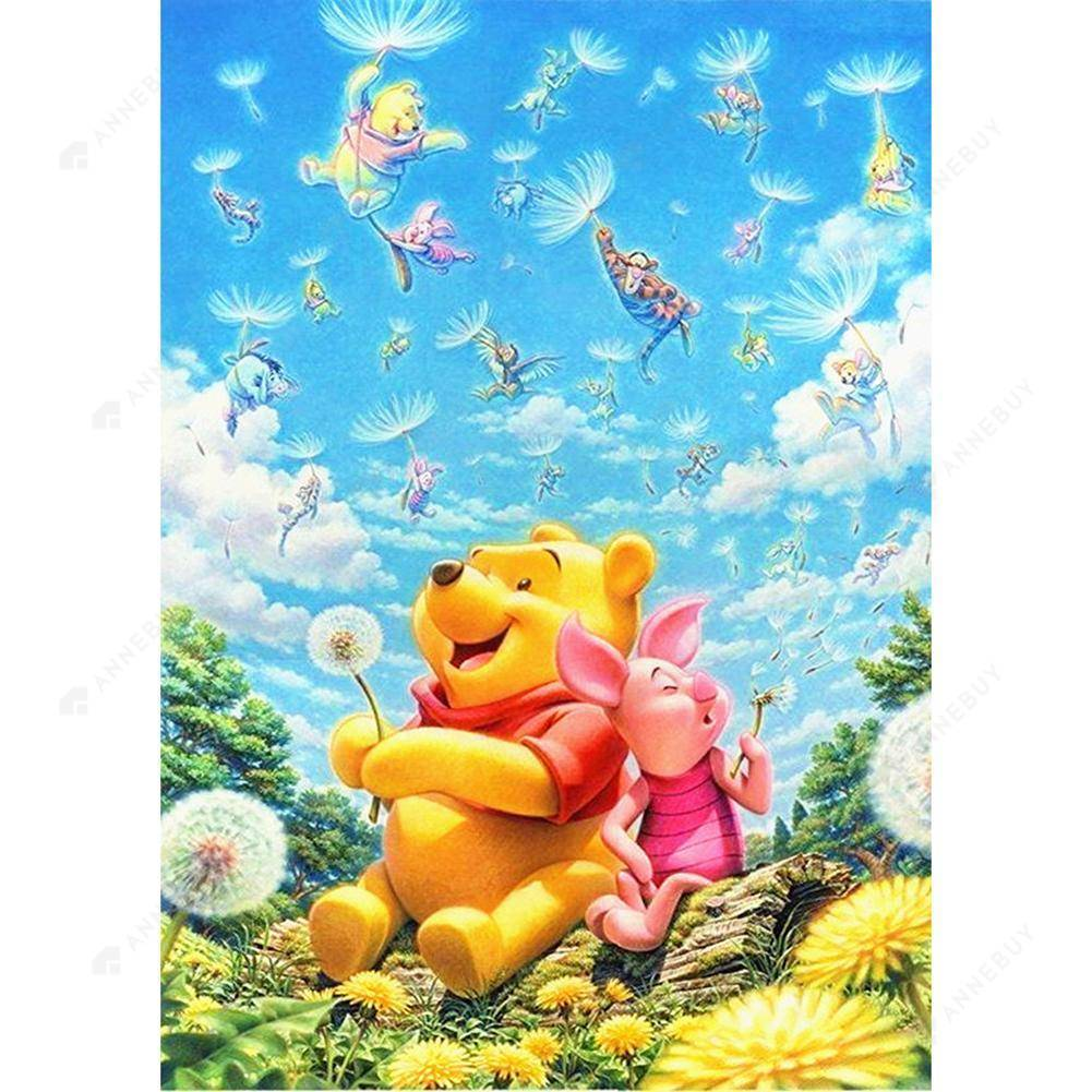 Diamond Painting -Full Round Drill Winnie the Pooh