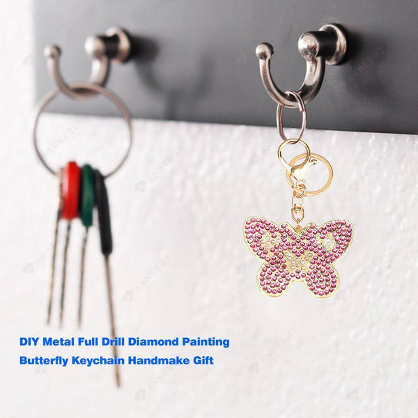 DIY Diamond Painting Keychain -3pcs/set Butterfly