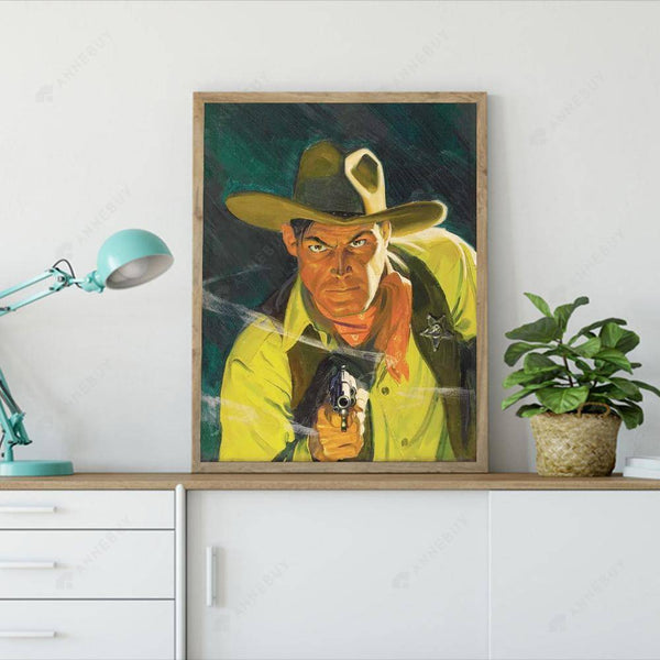 Diamond Painting -Full Round Drill Cowboy