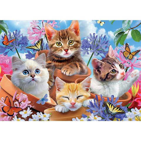 Diamond Painting-5D Full Square Drill Cat's Paradise