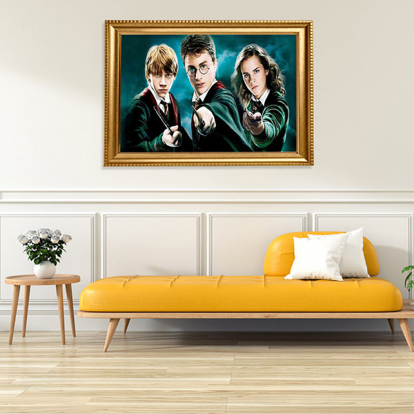 Diamond Painting-DIY Full Round Drill Harry Potter