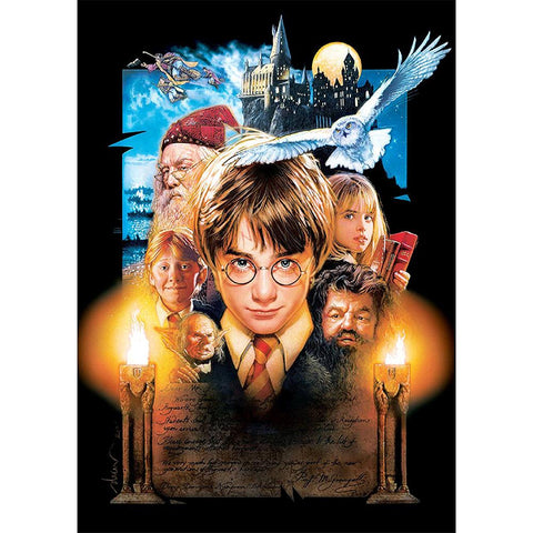 Diamond Painting-5D Full Round Drill Harry Potter