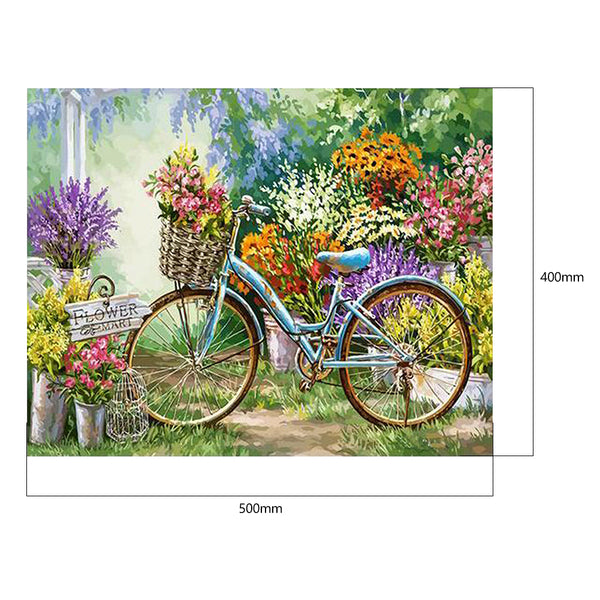 Paint By Numbers-DIY Bicycle(40*50 CM)