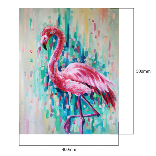 Paint By Numbers-DIY Pink Bird(40*50 CM)