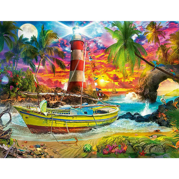 Paint By Numbers-DIY Boat (40*50 CM)