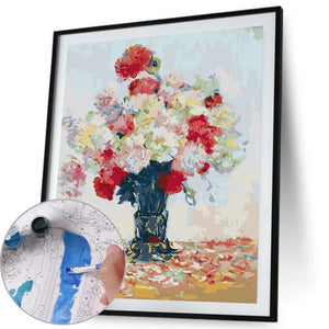 Paint By Numbers-DIY Colorful Flower(40*50 CM)