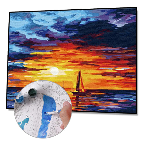Paint By Numbers-DIY Sunset (40*50 CM)