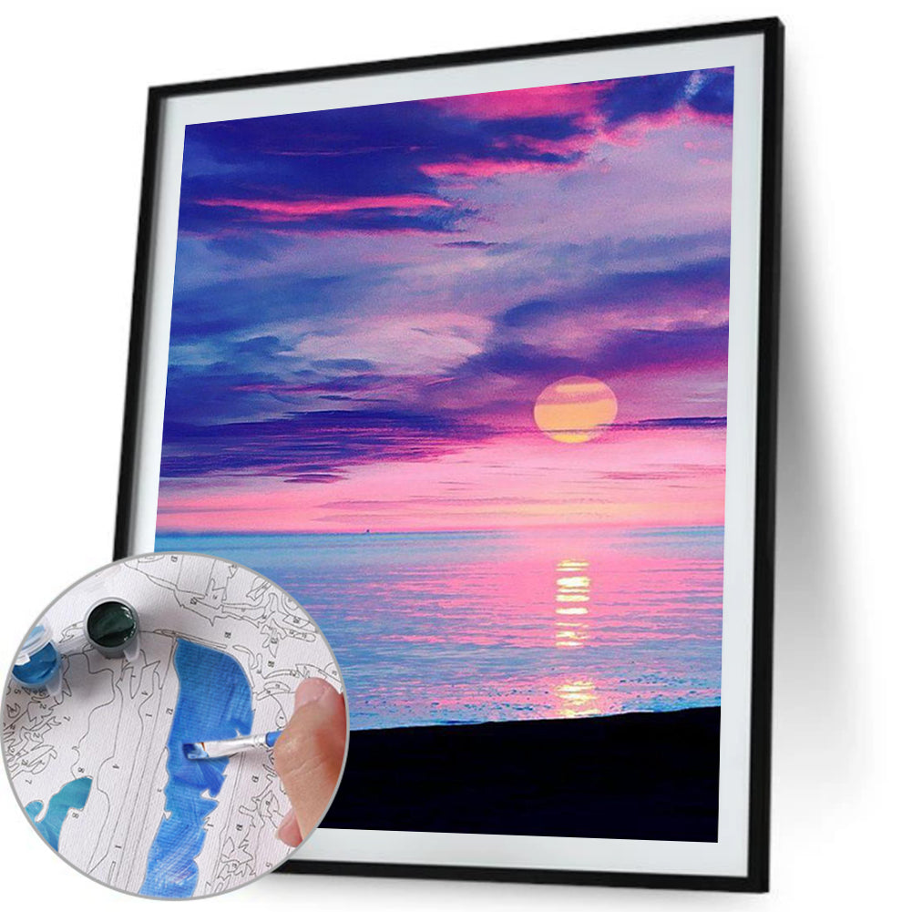Paint By Numbers-DIY Sunrise(40*50 CM)