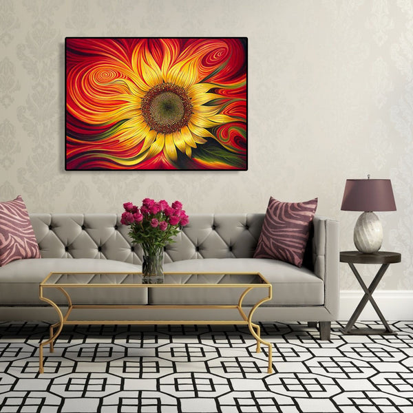 Paint By Numbers-DIY Sunflower (40*50 CM)
