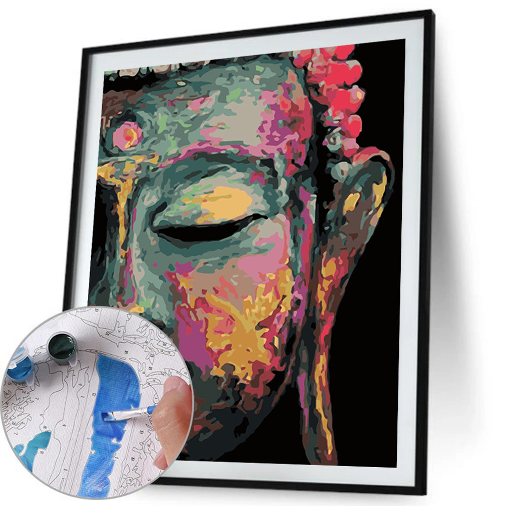 Paint By Numbers-DIY Buddha(40*50 CM)