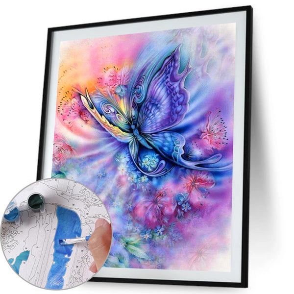 Paint By Numbers-DIY Butterfly (40*50 CM)