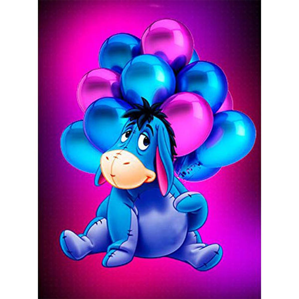 Diamond Painting-5D Full Round Drill Eeyore