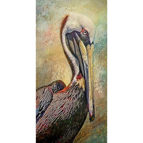 Diamond Painting-5D Full Round Drill Pelican(45X85cm)