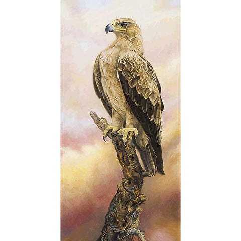 Diamond Painting-5D Full Round Drill Flower Eagle (85x45cm)